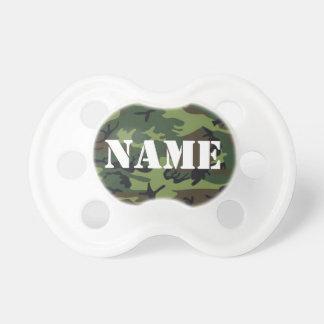 Tétine capable de camouflage de nom de bébé de per