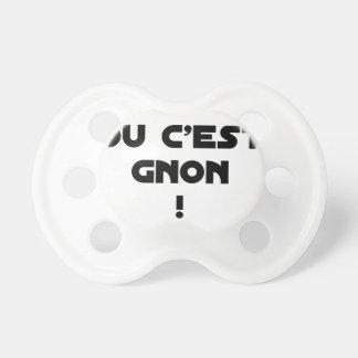 Tétine C'EST OUI OU C'EST GNON ! - Jeux de mots