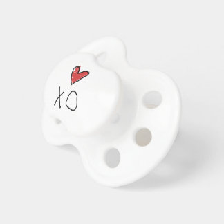 Tétine Chemise du coeur des enfants de combinaison