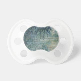 Tétine Claude Monet - matin sur l'oeuvre d'art de la