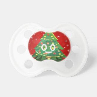 Tétine Conception d'arbre de Noël d'Emoji