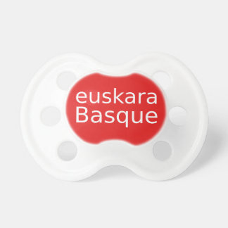 Tétine Conception de langue Basque