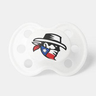 Tétine Côté de cowboy de bandit du Texas rétro