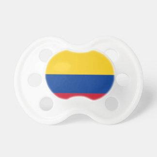 Tétine Coût bas ! Drapeau de la Colombie