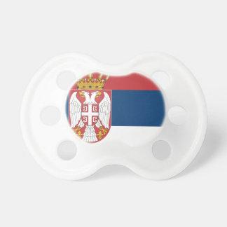 Tétine Coût bas ! Drapeau de la Serbie