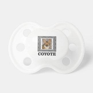 Tétine coyote dans une boîte