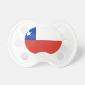 Tétine de Booginhead de drapeau du Chili