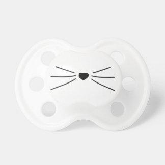 Tétine de favori de chat de bébé