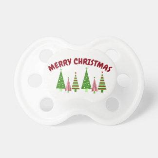 Tétine de vacances de Joyeux Noël