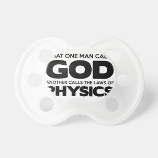 Tétine Dieu ou physique