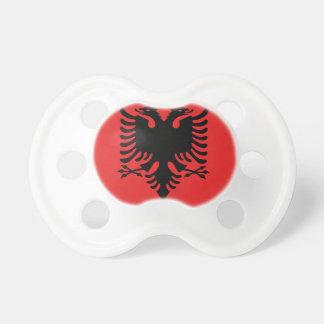 Tétine Drapeau de l'Albanie - le Flamuri i Shqipërisë