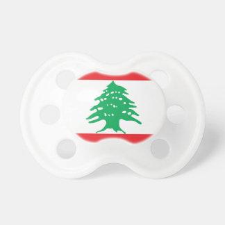 Tétine Drapeau libanais - drapeau de علملبنان du Liban