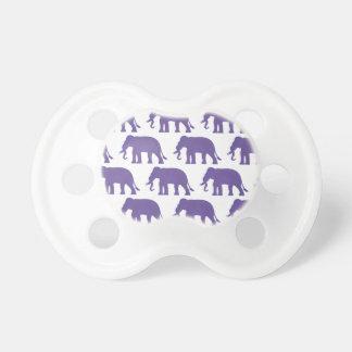 Tétine Éléphants pourpres