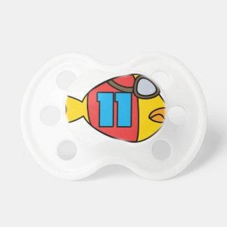 Tétine emballage des poissons