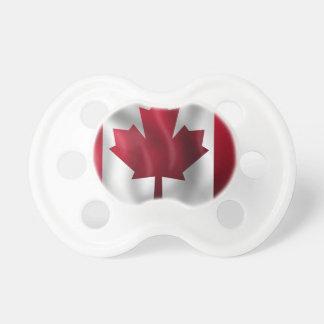 Tétine Érable canadien de feuille d'emblème de pays de