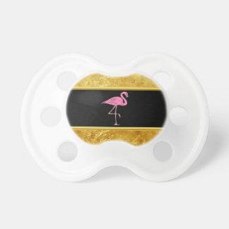 Tétine Flamants roses se tenant avec la texture 3 de