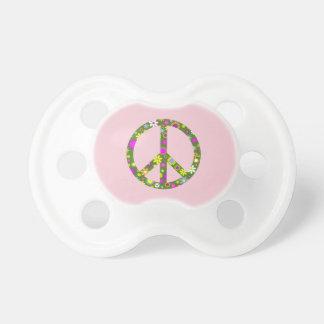 Tétine florale de nourrisson de bébé de signe de