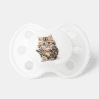 Tétine gamme de conception de fractale de chaton