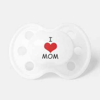 Tétine J'aime le simulacre de maman