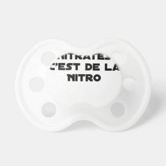 Tétine La Directive Nitrates, c'est de la Nitro - Jeux de