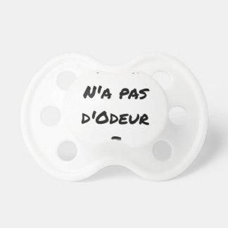Tétine L'AGENT N'A PAS D'ODEUR ? - Jeux de mots