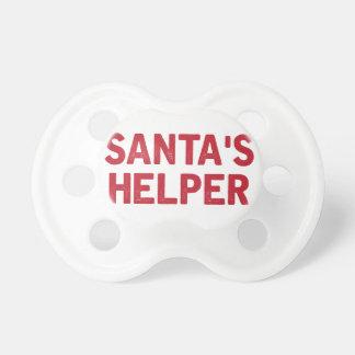 Tétine L'aide de Père Noël