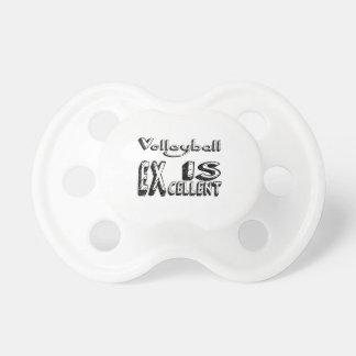 Tétine Le volleyball est excellent
