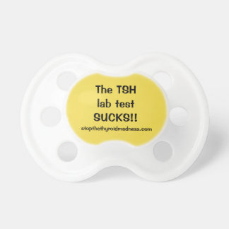 TÉTINE -- l'essai en laboratoire de TSH suce !