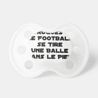 TÉTINE MATCHS TRUQUÉS, LE FOOTBALL SE TIRE UNE BALLE DANS