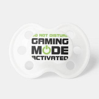 Tétine Mode de jeu