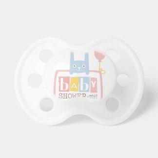 Tétine Modèle de conception d'invitation de baby shower