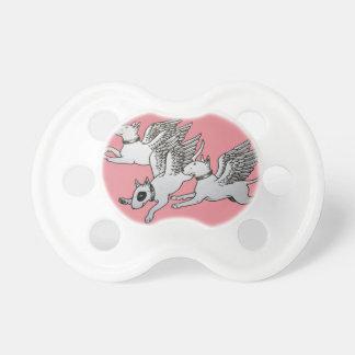 Tétine/muet de bébé de bull-terrier sucette pour bébé