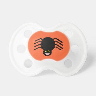 Tétine noire d'araignée de Halloween