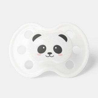 Tétine Ours panda Binky noir et blanc