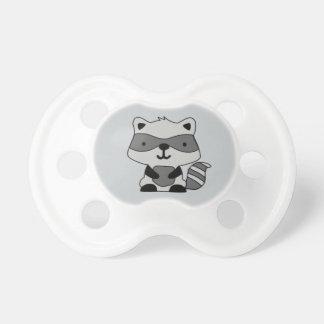 Tétine personnalisable de raton laveur