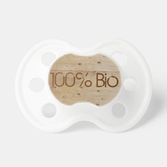 Tétine personnalisée 100% Bio