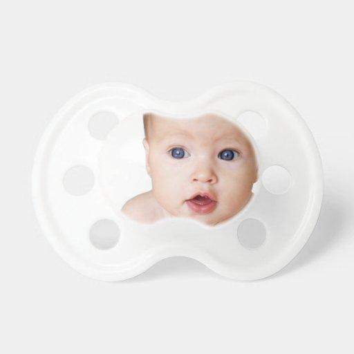 Tétine personnalisée de photo de bébé