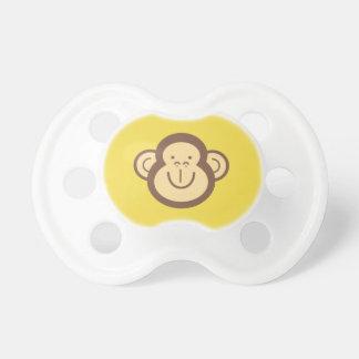 Tétine Petit visage mignon de singe