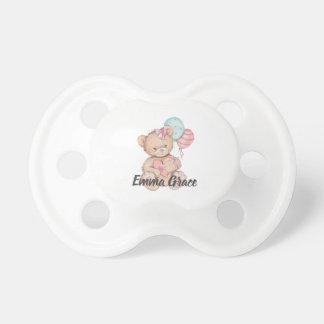 Tétine Petite princesse Balloons et bébé d'ours de