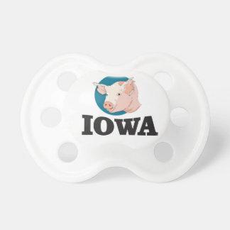 Tétine porcs de l'Iowa