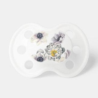 Tétine Ressort frais de fleur d'anémone florale de
