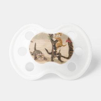 Tétine Saint-Valentin victorienne vintage de chatons de