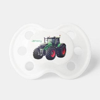 Tétine Tracteur vert moderne personnalisé de ferme