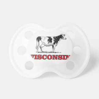 Tétine vache rouge au Wisconsin