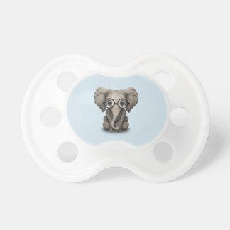 Tétine Verres de port d'éléphant ringard de bébé