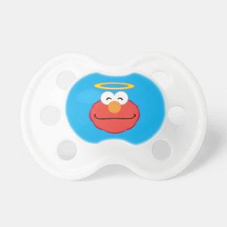 Tétine Visage de sourire d'Elmo avec le halo