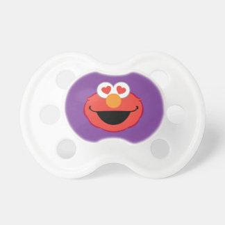 Tétine Visage de sourire d'Elmo avec les yeux en forme de