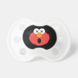 Tétine Visage étourdi d'Elmo