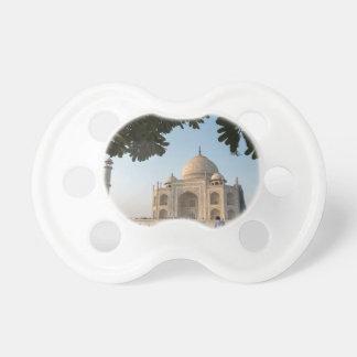 Tétine Visiteurs chez le Taj Mahal, Âgrâ, Inde