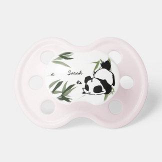 Tétines mignonnes personnalisées de panda